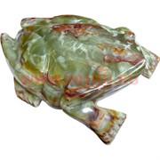 Жаба 30см, оникс (12 дюймов)
