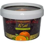 """Табак для кальяна Alsur 500 гр """"Апельсин и мята"""" (без никотина)"""