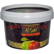 """Табак для кальяна Alsur 500 гр """"2 яблока"""" (без никотина)"""
