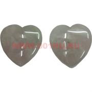 Сердце из розового кварца 4 см, цена за 2 штуки