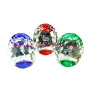 """Кристалл """"Яйцо граненное со знаками зодиака"""" цветное 7,5см"""