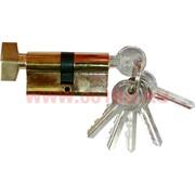 Личинка на 6 ключей 60 мм с поворотным ключом AL-107, цена за 120 шт\кор