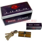 Личинка на 6 ключей 70 мм с поворотным ключом AL-158, цена за 12 шт\уп