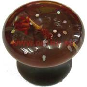 Ручка кнопка мебельная (цвет 134-1), цена за 100 шт\уп