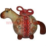 """Чайник """"лошарик"""" из керамики (16 см высота)"""
