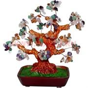 """Дерево счастья """"самоцветы"""" большое 28 см"""