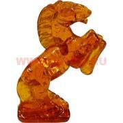 Лошадка 6,3 см под янтарь прозрачный