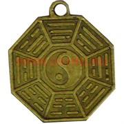 Монета китайская инь-ян 2см