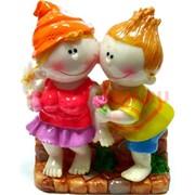 Девочка и мальчик, керамика