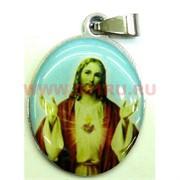 """Подвеска Иконка христианская (M-116) """"Священное сердце Иисуса Христа"""" цена за упаковку из 12шт"""