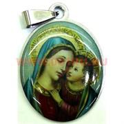 """Подвеска Иконка христианская (M-116) """"Божья матерь с младенцем на руках"""" цена за упаковку из 12шт"""