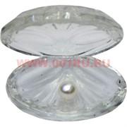 Кристалл «Жемчужина» белая 6 см