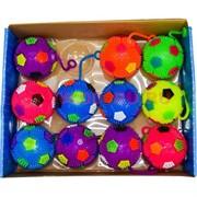 Мяч светящийся 75 мм со звуком (пищит) цена за 12 шт