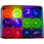 Мячики светящиеся 75 мм 12 шт/уп (288 шт/кор) цена за 12 шт