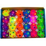 Мячики светящиеся 65 мм на резинке 24 шт (576 шт/кор) цена за 24 шт