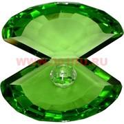Кристалл «Жемчужина» зеленая 10х11,5 см