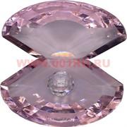 Кристалл «Жемчужина» розовая 10х11,5 см