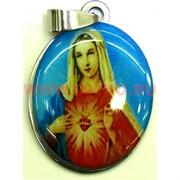 """Подвеска Иконка христианская (M-116) """"Непорочное сердце Девы Марии"""" цена за упаковку из 12шт"""