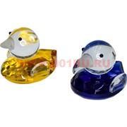 Утки-мандаринки из стекла (цена за штуку) 5х5,2х6 см
