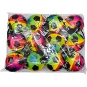 Мячик на резинке 70 мм 3 вида рисунков, цена за 12 шт