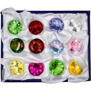 Кристалл «Бриллиант» 3 см стеклянный 12 шт/уп (XH6-10)