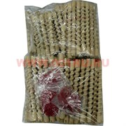 Бигуди деревянные 14 см, цена за упаковку 200 шт