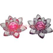 Кристалл «Лотос» цветной 10,5 см (цвета в ассортименте)