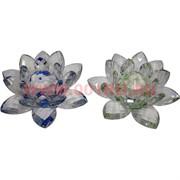 Кристалл «Лотос» цветной 13 см (цвета в ассортименте)