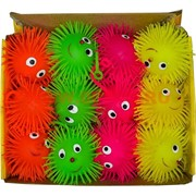 Ежики-светяшки 12 шт с нарисованными глазками, цена за 12 шт (288 шт/кор)