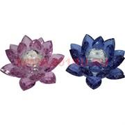 Кристалл «Лотос» цветной 10,5 см (XH1-2N-2C)