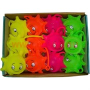 Игрушки светящиеся «солнышки» цена за 12 шт (288 шт/кор)