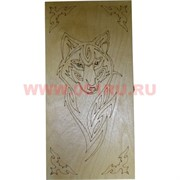 Нарды деревянные с рисунками 50 см