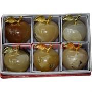 Яблоко из медового оникса 2 дюйма 5,2 см (6 шт/уп)