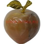 Яблоко из медового оникса 2,5 дюйма 7,5 см