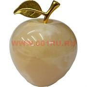 Яблоко из медового оникса 4 дюйма 12 см