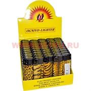 Зажигалка газовая «тигровая» 50 шт/бл