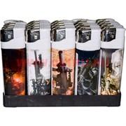 Зажигалка газовая «автоматы» 25 шт/бл