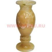 Ваза из медового оникса 4х10 дюйма 25х10 см