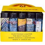 Зажигалка газовая Ognivo-Lighter «джинсы» 50 шт/бл