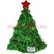 "Колпак новогодний ""Елка"" (754) зеленая 300 шт/кор"