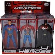 Игрушка 21 см «Супергерои 4» размер 2 (12 шт/уп)