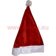 Колпак новогодний (733) Санта Клауса, цена за 12 шт/уп, 240 шт/кор (красно-белый)