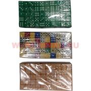 Кости игральные 15 мм (кубики, зарики) цветные 100 шт/уп