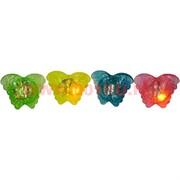 """Кольца светящиеся """"бабочки"""" 24 шт силиконовые, цена за упаковку"""