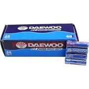 Батарейки солевые Daewoo AA 60 шт, цена за упаковку