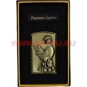 Зажигалка «Петух символ 2017 года» в коробочке