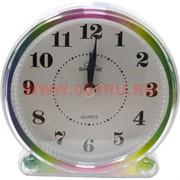 Часы будильник кварцевые на батарейках в ассортименте