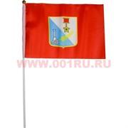 Флаг Севастополя 16х24 см, 12 шт/бл