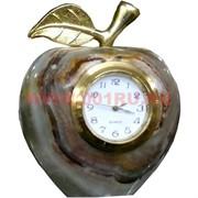 """Часы из оникса """"Яблоко"""" 11см (3 дюйма)"""