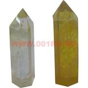 Кристалл 7,5 см из цитрина 6-гранный